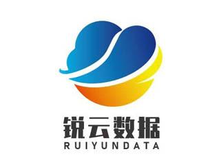 銳云數據 簡潔科技感科技公司logo設計