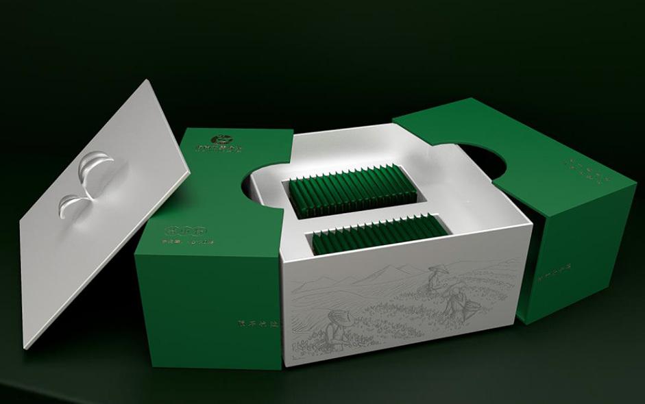 海南云雾绿茶包装设计
