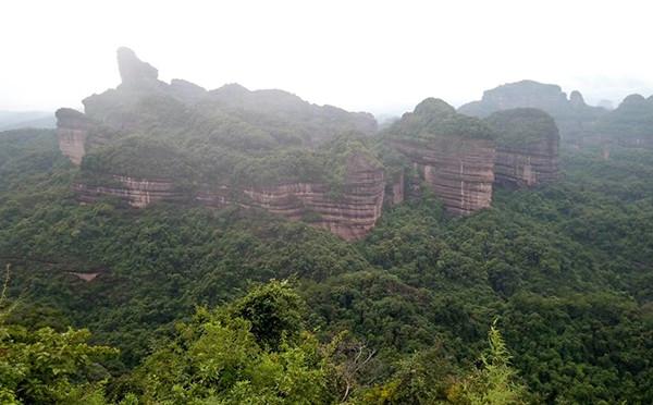 丹霞山一日游