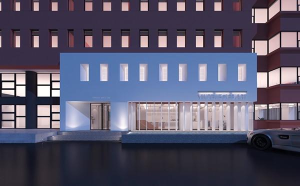 充满艺术气息的设计-银丰艺术馆