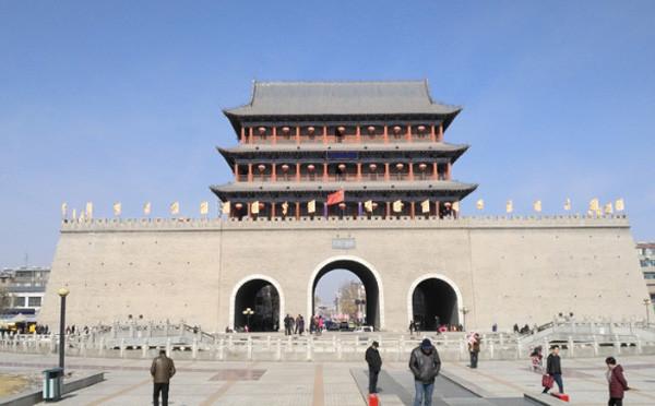 凉州古城门