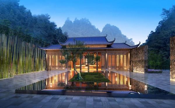 张家界宝峰湖 酒店设计 |AD设计