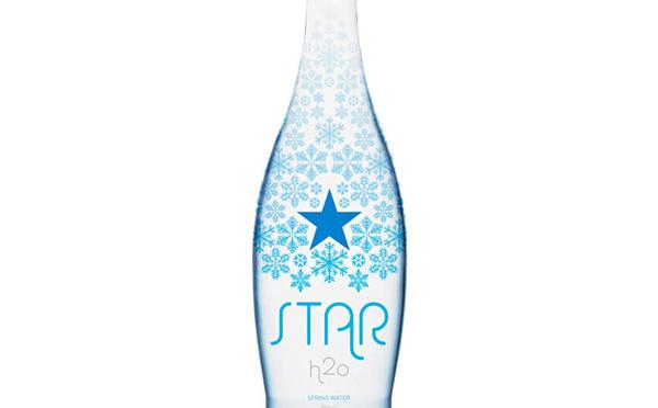 Star H2O 礦泉水品牌包裝設計