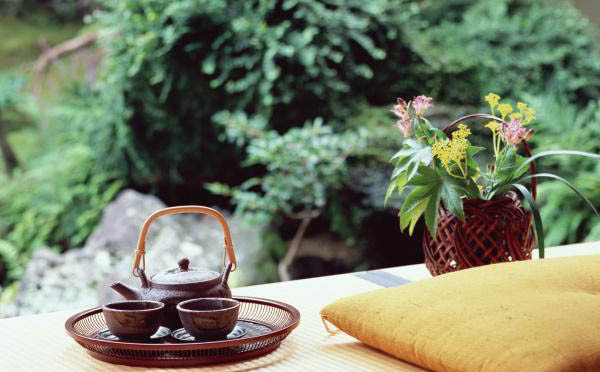 养生富硒茶文化详情页设计