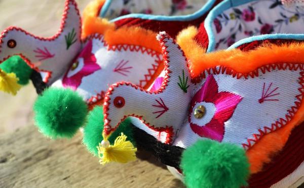 小鸟鞋和花朵鞋是一种记忆,更是母亲爱的体现