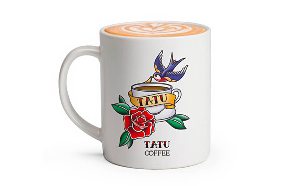TATU COFFEE 復古咖啡店品牌設計