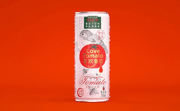 """""""喜歡番茄""""包裝設計"""