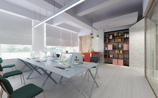 青岛裕和甜品办公室设计-干净、清爽但不失创意与精致|艺科设计