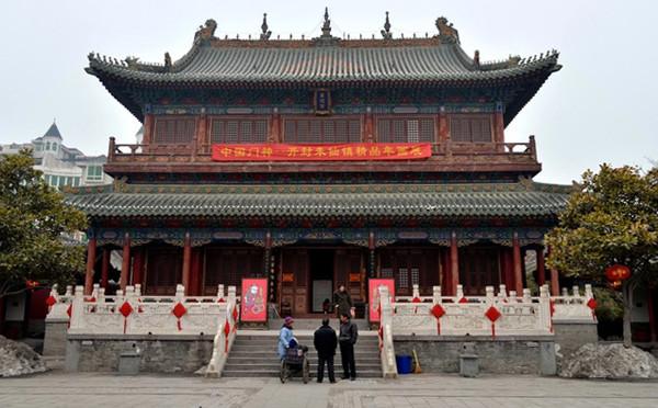 河南郑州城隍庙