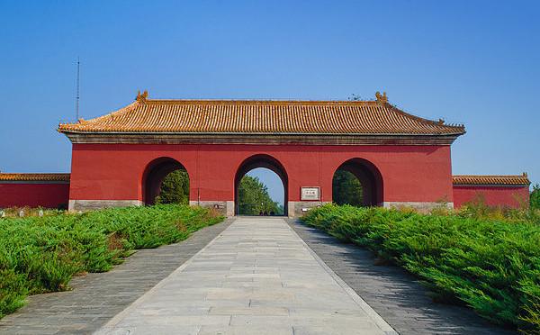 北京明十三陵风景区