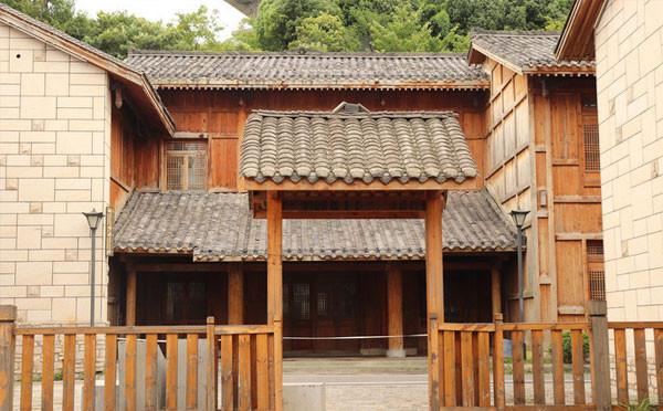 木质建筑物