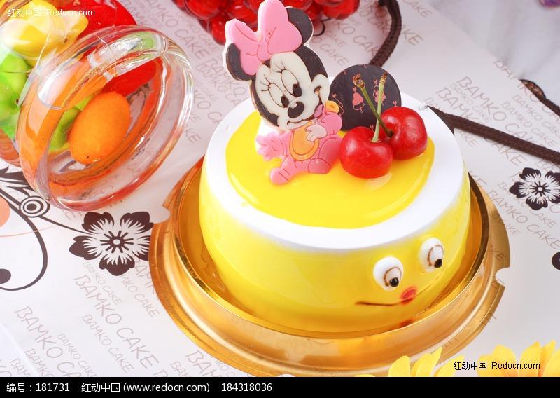 米奇迷你蛋糕图片,高清大图_西餐美食素材