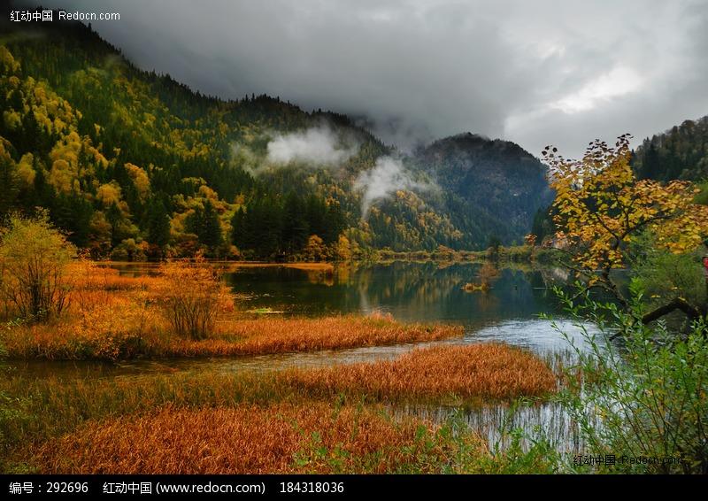 九寨沟/九寨沟 海子湖泊水 美景 天堂自然风景