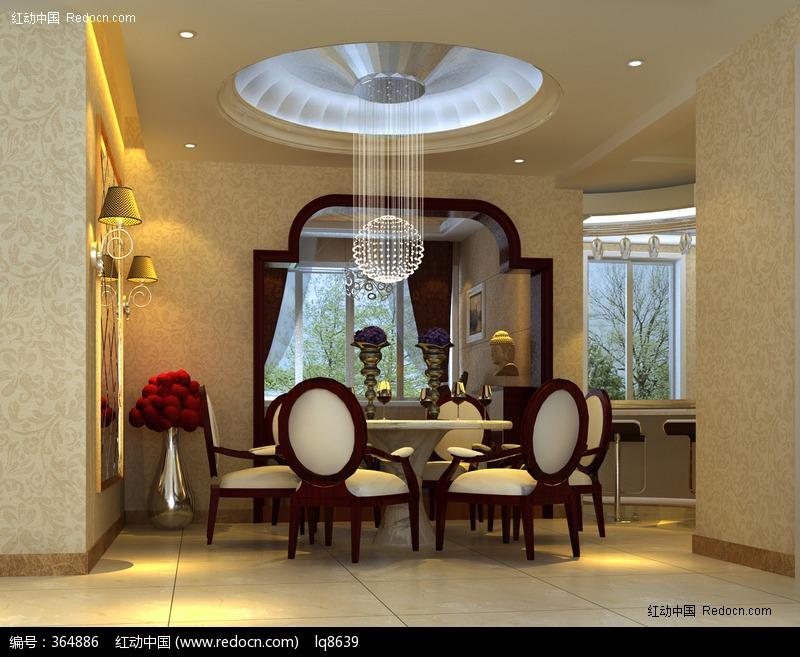 古典欧式餐厅图片素材下载(编号:364886)