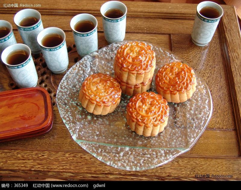 原创摄影图 餐饮美食 小吃点心 中秋月饼图片  请您分享: 素材描述:红