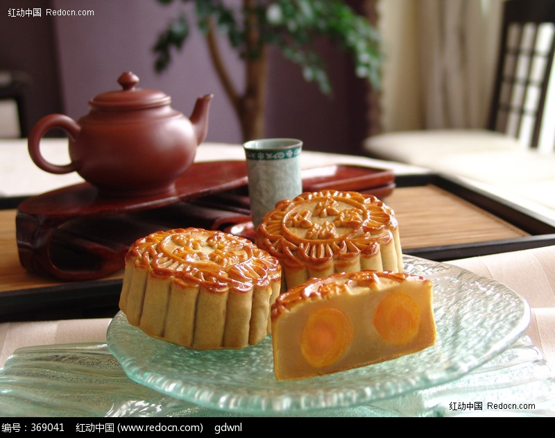 中华美食 高清月饼素材图片