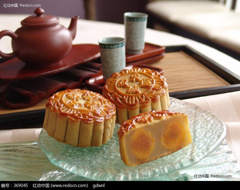 原创摄影图 餐饮美食 小吃点心 五星级酒店中秋节高清月饼素材图片
