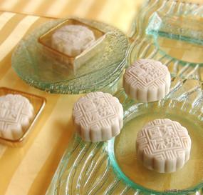 五星级酒店中秋节高清月饼素材图片