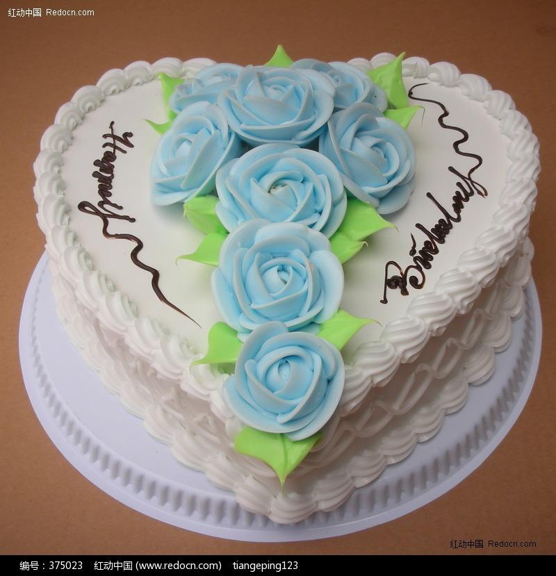 精美心形情人蛋糕图片素材下载(编号:375023)