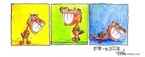 关于马的漫画-重任、徐、自信人生两百年