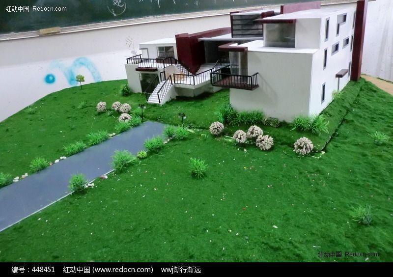 别墅模型设计与制作图片