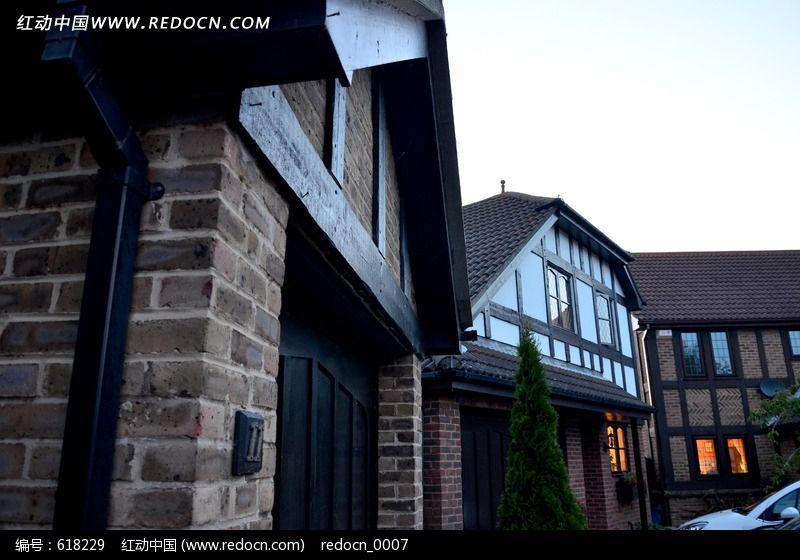 欧式古建筑群 伦敦 建筑物 房屋 房子