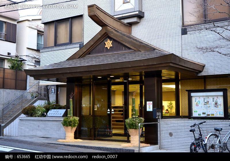 复古的性质商店小区门面凤井别墅图片