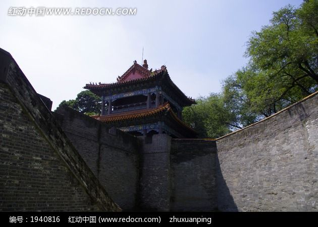 古建筑城楼城墙