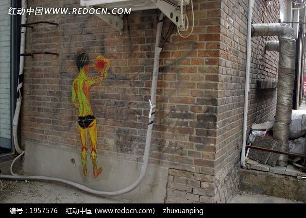 手绘涂鸦 水管素材
