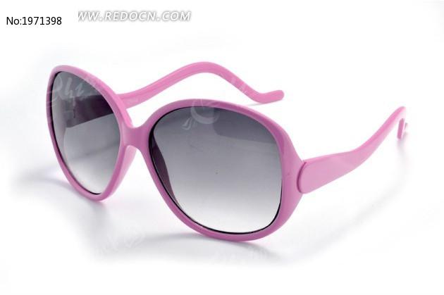 粉色蛇形镜脚墨镜高清图图片