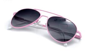 粉色镜框儿童太阳镜摄影图