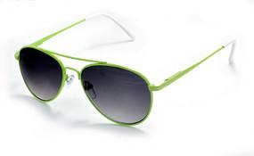 绿色金属镜框儿童太阳镜