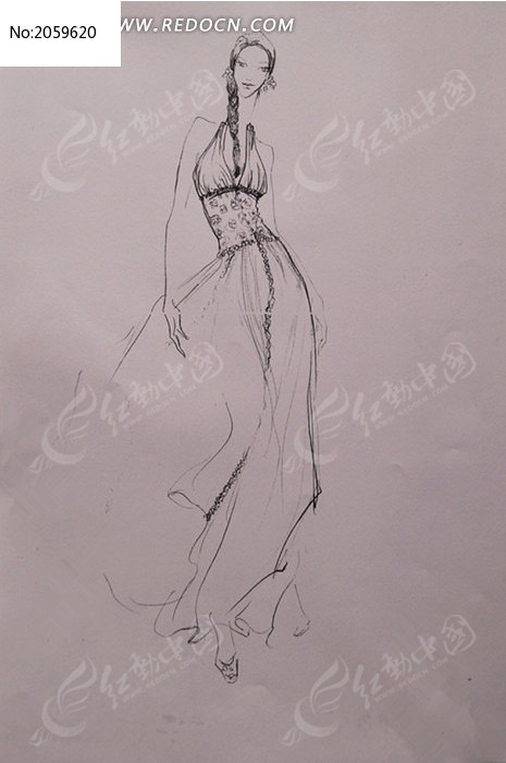 提美女的女人矢量图_第6页_乐乐简笔画的袋子脚丫子看图片