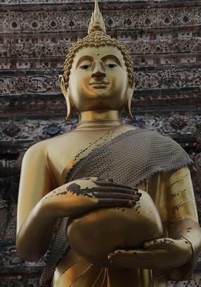 泰国黎明寺释迦穆尼佛像