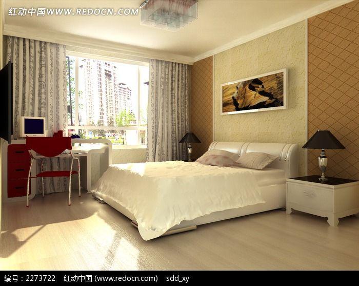 时尚简约风格卧室装修效果图