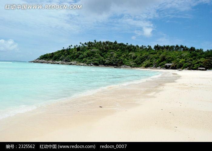 普吉岛银沙滩风景图片,高清大图_海洋沙滩素材
