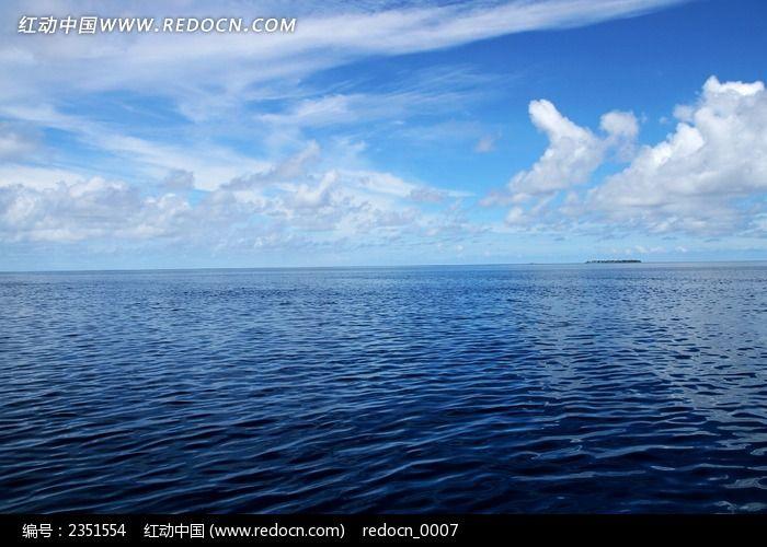 深蓝色的大海图片,高清大图_海洋沙滩素材