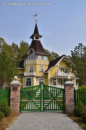 伏尔加庄园,欧式住宅