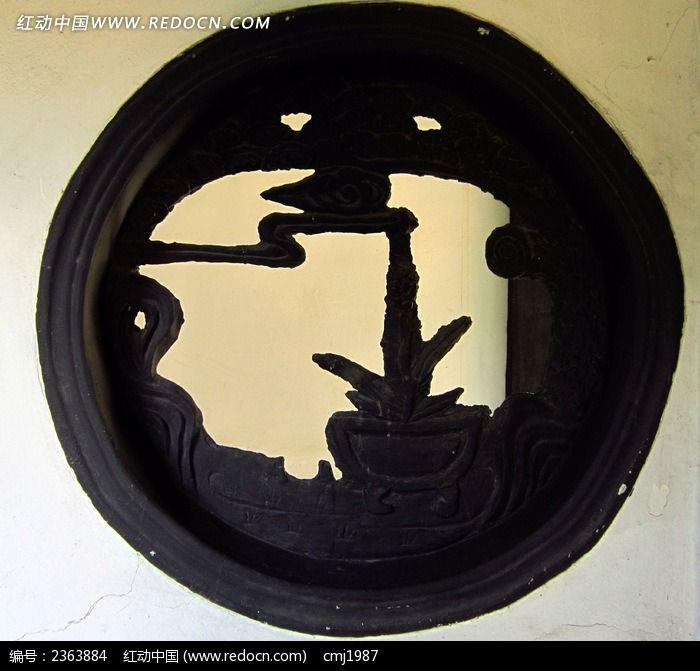 荆川公园圆形花窗