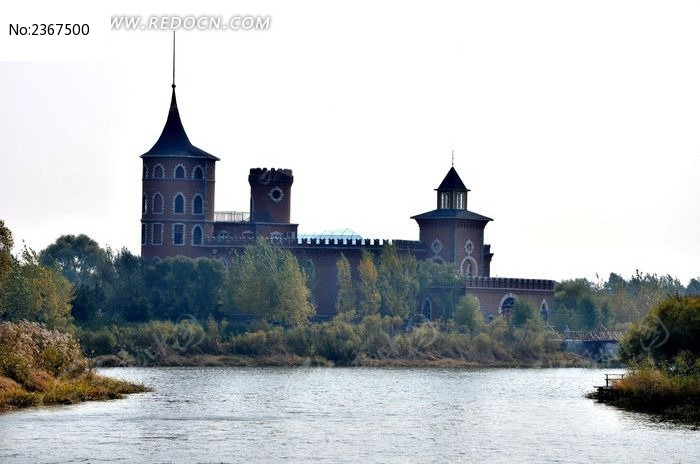 伏尔加庄园里的欧式城堡高清图片下载 编号2367500 红动网
