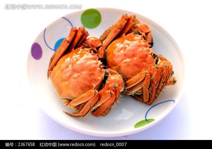 清蒸大闸蟹图片