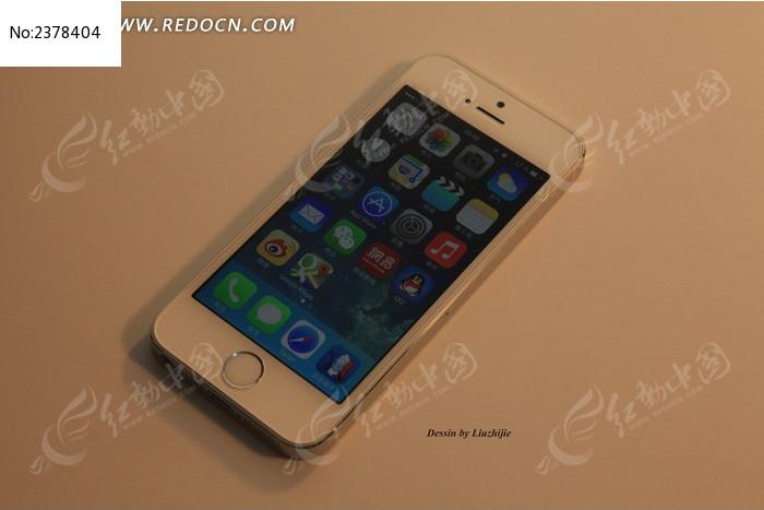 开机界面 iphone 5s 苹果手机