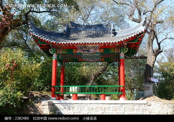 吉林北山凉亭图片
