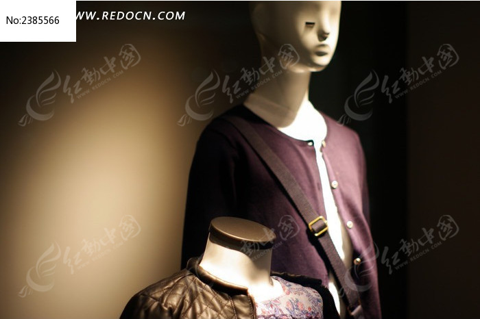 商场服装模特