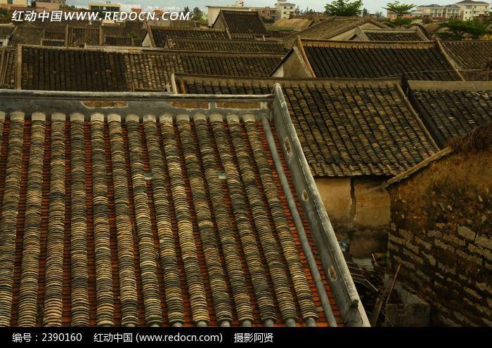 大鹏所城屋顶图片