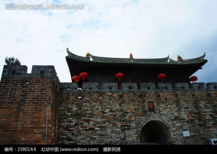 大鹏所城古城楼图片