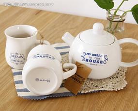 zakka小清新陶瓷早餐杯子茶壶