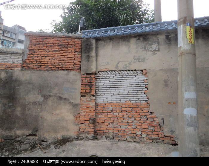 原创摄影图 背景素材 其它 堆砌整齐的砖瓦房  请您分享: 红动网提供