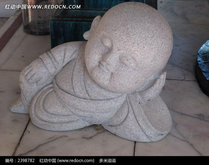 可爱石头娃图片_艺术文化图片