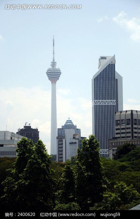 吉隆坡电视塔图片,高清大图